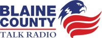 logo blaine county talk radio
