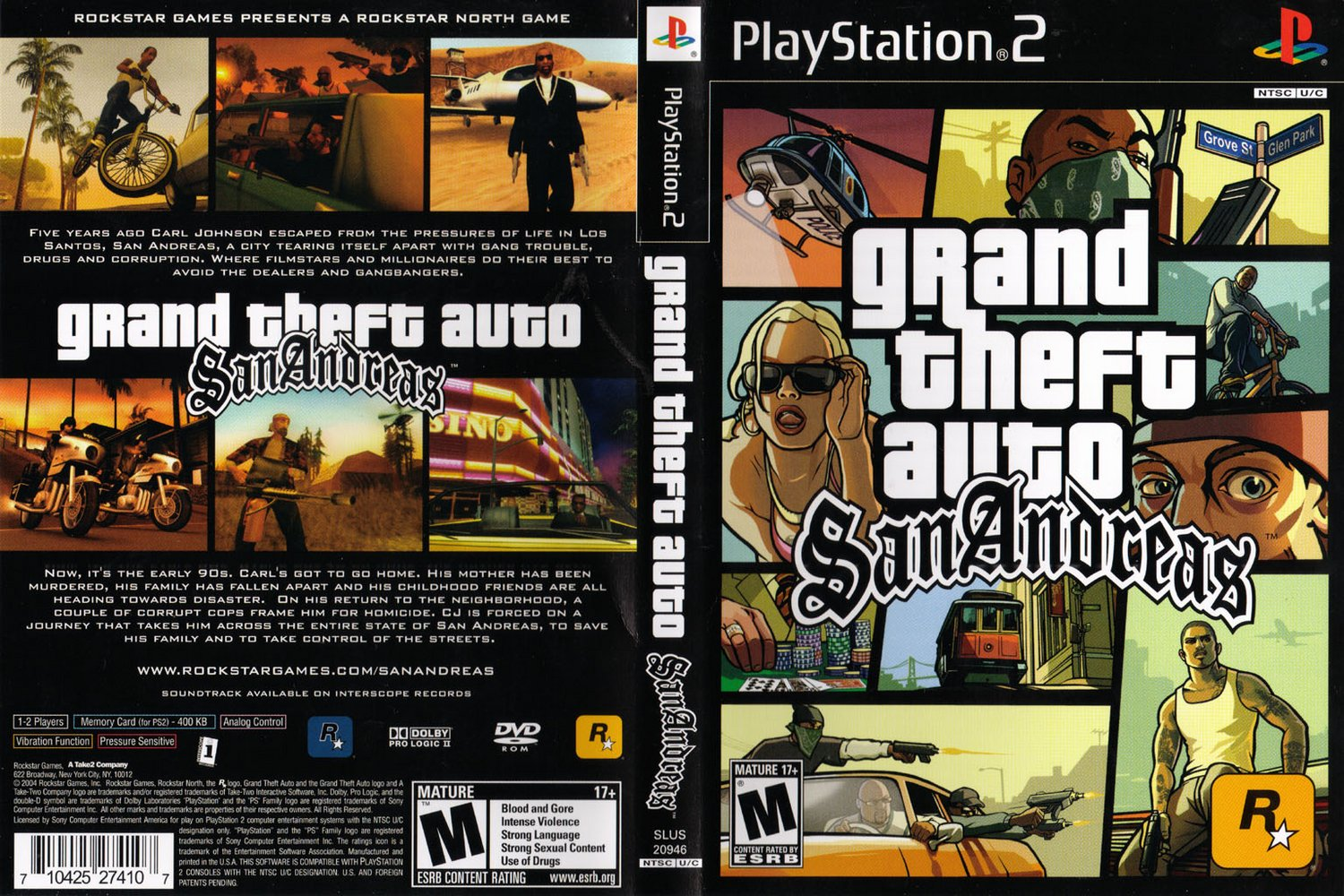 Cheat GTA San Andreas PS2 | Lengkap